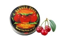 Natural Sour Cherry Flavor Candy (Bonbons Saveur de Cerisez) - 1.5oz
