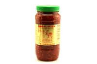 Sambal Oelek (Ground Fresh Chili Paste) - 18oz