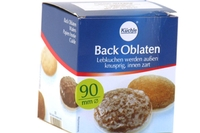 Back Oblaten Round Wafers 90mm - 4.5oz
