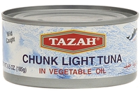 Chunk Light Tuna in Soybean Oil - 6.5oz
