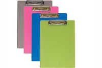 Standard Size Plastic Clipboard with Low Profile Clip