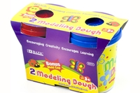 Multi Color Modeling Dough 5 Oz. (2/Pack)