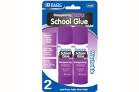 Large Washable Purple Glue Stick (2/Pack) - 21g / 0.7 Oz.