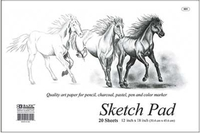 Sketch Pad (20 Ct) - 18 X 12 Premium