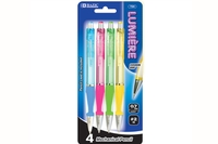 Lumiere 0.7 mm Mechanical Pencil with Grip (4/Pack)