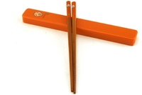 Chopstick & Case (Brown)