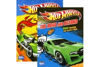Giant Coloring & Activity Book - HOT WHEELS