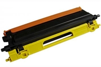 BROTHER TN115Y Compatible Remanufatured Yellow Laser Cartridge - (4000 Pages)