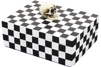 Skull Checkered Box