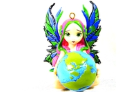 A World in Good Hands Fairy Figurines