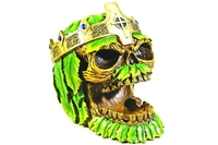 Greenman King Skull Ashtray #7781