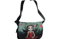 Poppy Garden Messenger Bag