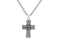 Celtic Cross Necklace #J023
