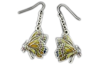 Chrysalis Butterfly Earrings
