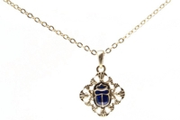 Scarab Necklace #J293