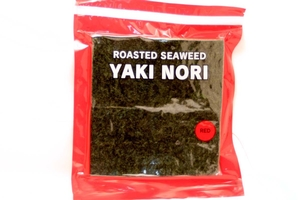 Yakinori Red Half (Roasted Seaweed) - 3.75oz