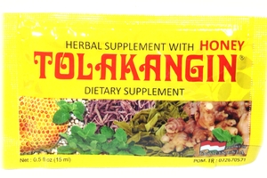 Tolak Angin Dietary Supplement (Herbal Supplement with Honey) - Single Pack