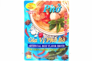 Gia Vi Pho Bo (Artificial Beef Flavor Broth) - 2.7oz