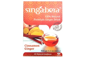 Premium Ginger Drink (Cinnamon Ginger/12-ct) - 5.1oz