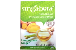 Premium Ginger Drink (Lemongrass Ginger/12-ct) - 5.1oz