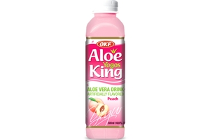 Aloe Yogurt (Peach Flavor) - 50.7fl oz