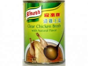 Clear Chicken Broth w/ Natural Flavors - 13.4fl oz