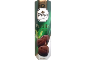 Droste Chocolate Pastilles Dark Mint Crisp - 3.5oz