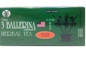 3 Ballerina Dietary Tea (Orange Flavor / 18ct) - 1.88oz