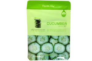 Farm Stay Cucumber Visible Difference Mask Sheet 23ml/0.78 fl.oz