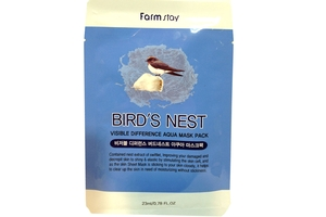 Farm Stay Birds Nest Visible Difference Aqua Mask Sheet
