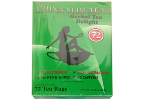 China Slim Tea (Extra Strength /72-ct) - 6.34oz