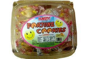 Fortune Cookies (with Magic LOTTO Nuber / 15-ct) - 3oz