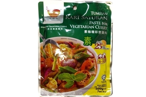 Vegetarian Curry Paste - 7oz