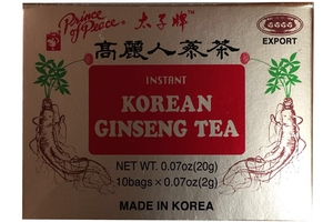 Instant Korean Gingseng Tea (10-ct) - 0.07oz