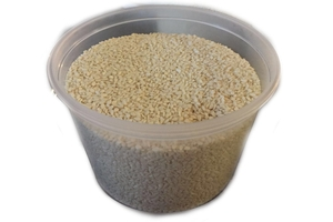 Hulled White Sesame Seeds (Extra Super Grade) - 10oz