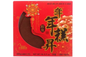 Sticky Rice Cake (Red Bean Nian Gao) - 16.05oz