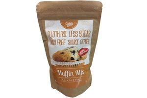 Muffin Mix with Palm Sugar (Gluten Free / Less Sugar / Dairy Free) - 11.5oz