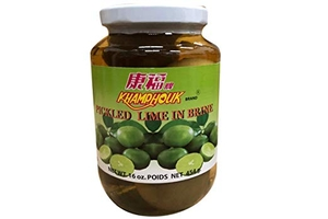 Pickled Lime in Brine - 16oz