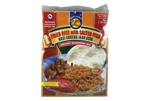 Nasi Goreng Ikan Asin (Fried Rice with Salted Fish) - 2.12oz