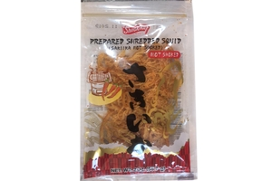 Sai ika Hot Smoked (Prepared Shredded Squid) - 2oz