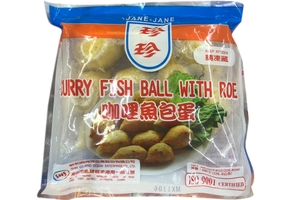 Curry Fish Ball with Roe - 8oz