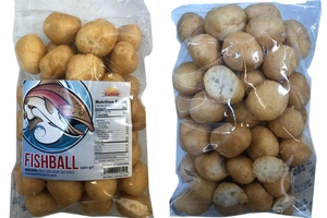 Krupuk Ikan Bulat (Fishball Crackers) - 3.5oz