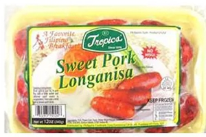 Frozen Pork Longanisa (Sweet) - 12oz