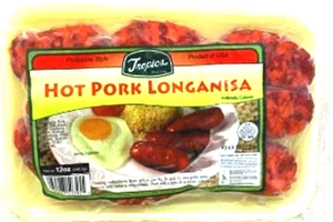 Frozen Pork Longanisa (Hot) - 12oz