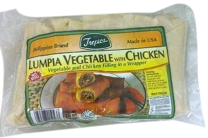 Lumpia Vegetable with Chicken - 18oz