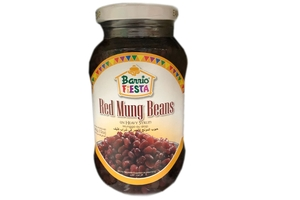 Red Mug Beans in Heavy Syrup - 12oz