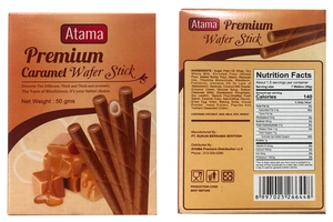 Premium Caramel Wafer Stick - 1.8oz