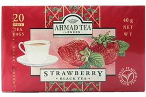 Strawberry Black Tea (20-ct) - 1.41oz