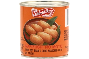 Inarizushi No Moto (Fried Soy Beans Curd Seasoned With Soy Sauce) -  10oz