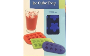 Star Silicone Ice Cube Tray (Blue)